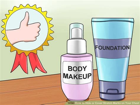 4 Ways to Hide or Cover Stretch Marks on Your Chest - wikiHow