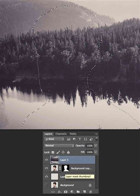 Collection of Double Exposure Effect Photoshop Tutorial