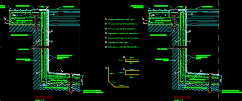 Detail Of Pool's Overflow DWG Detail for AutoCAD • Designs CAD