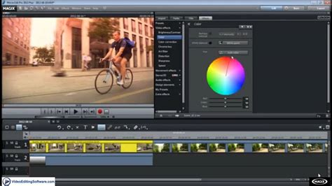 Alpha Mask Effects in Magix Movie Edit Pro Plus - Video