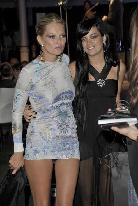Lily Allen reunites with former friend Kate Moss - Daily Dish